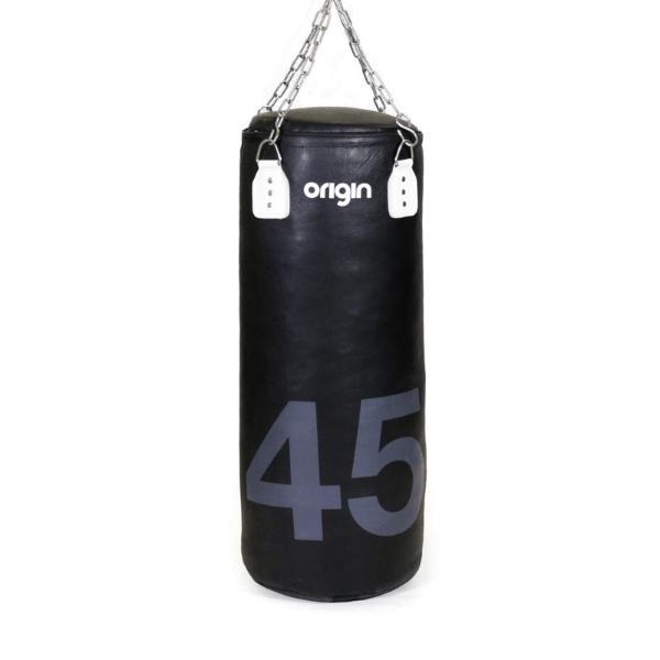 Origin 3.3ft Leather Punch Bag (45kg)