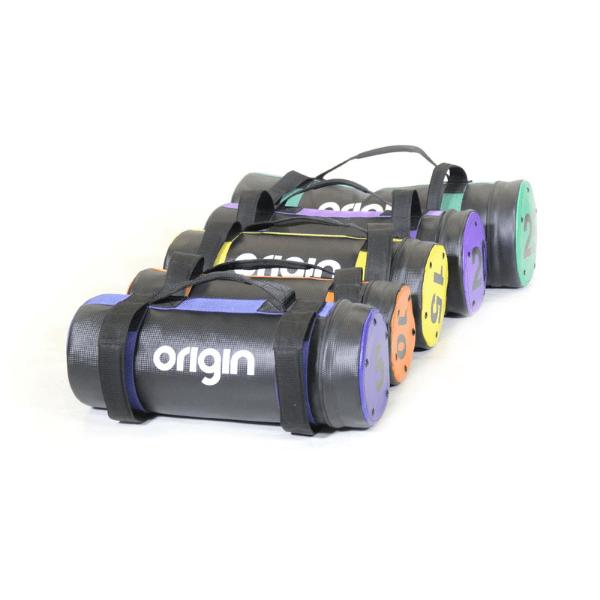 Origin Sandbags - PU Carbon Texture with Air Holes