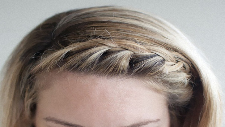 How to Create a French Braid Headband Easily