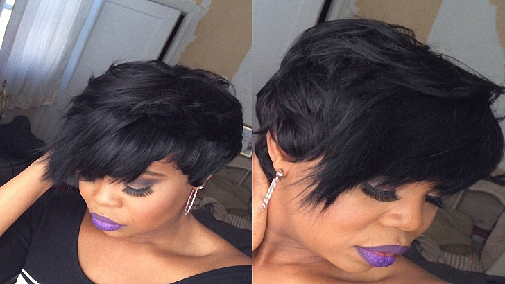 Quick Weave Hairstyle