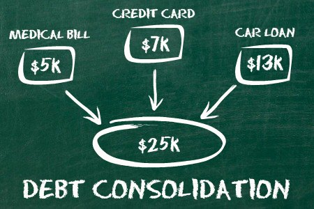 Pay off Your Bad Debt with Debt Consolidation Strategy