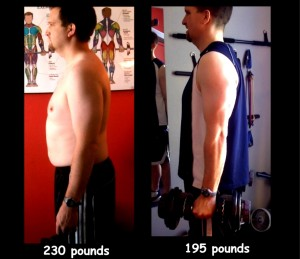 jerrrodbeforeafter las vegas personal trainer client