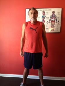 las vegas personal training client Kirk