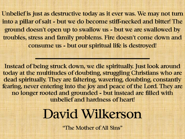 david-wilkerson-quote-on-unbelief