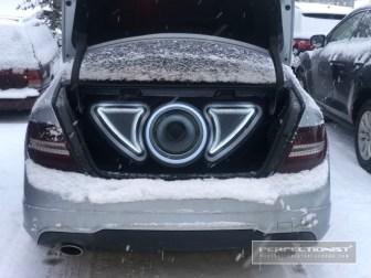 Mercedes Subwoofer