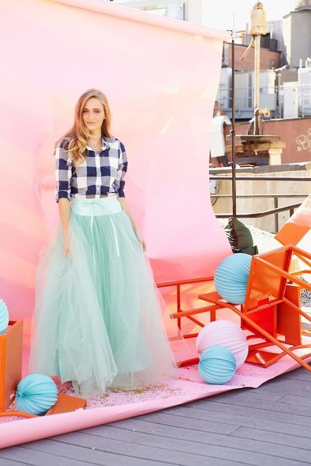 Shabby Apple Wooster Tulle Skirt in Mint