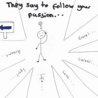 They say to follow your passion...