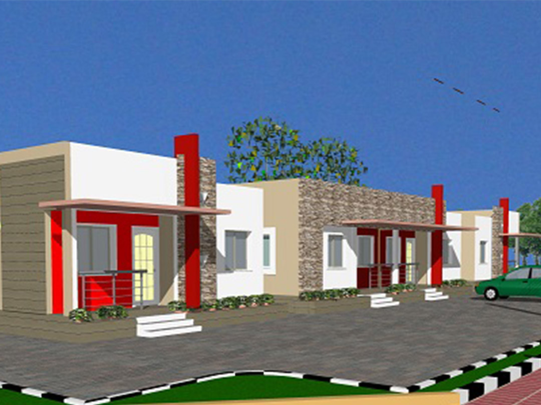 Housing 2bedroomterrace bungalow
