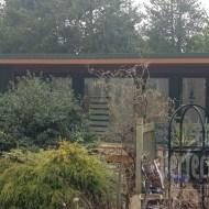 External view across garden