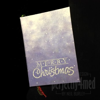 Christmas Art Journal 1