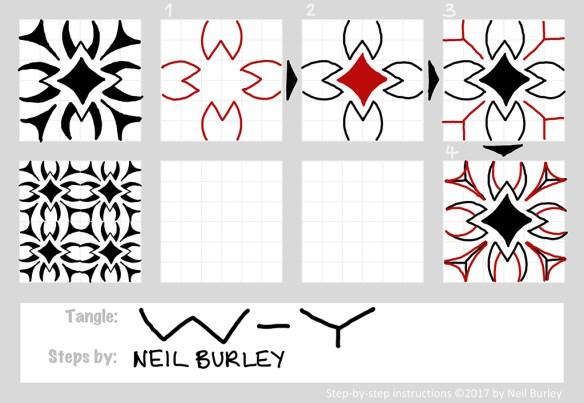W-Y tangle pattern