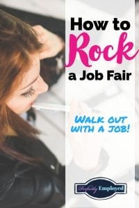 How to Rock and Job Fair and Walk Out with a Job
