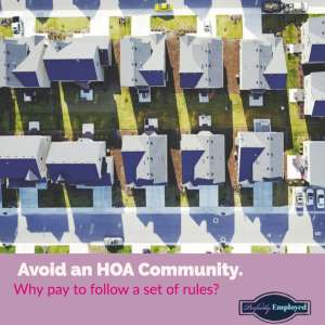 Avoid an HOA community