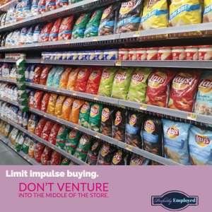 Limit impulse buying