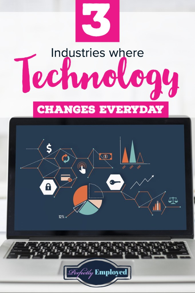 3 Industries where Technology Changes Everyday - #technology #change #career
