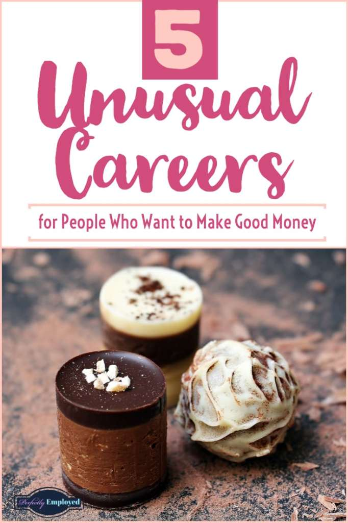 5 Unusual Careers for People Who Want to Make Good Money #career #weirdjobs #unusualcareers