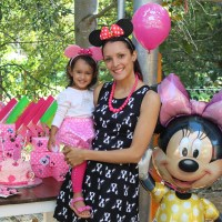 DDs 2nd Birthday: Minnie Mouse Mania