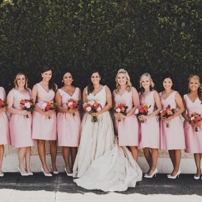 Mid-Century Modern Wedding at The Foundry | Rachel + David