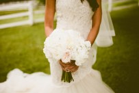 DeLille Cellars wedding in Woodinville | White & Blush peony bouquet | Perfectly Posh Events | Seattle Wedding Planner | Andria Lindquist Photography | Butter & Bloom