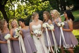 Laurel Creek Manor Wedding in Seattle |Short lavender bridesmaids dresses with white and purple bouquets | Perfectly Posh Events, Seattle Wedding Planner | Azzura Photography | Sublime Stems