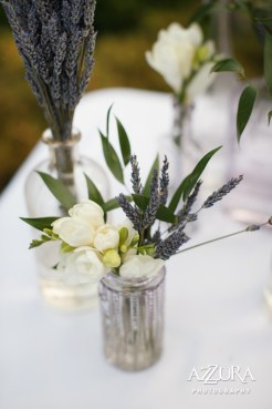 Laurel Creek Manor Wedding in Seattle | Lavender centerpieces for wedding reception with greenery | Perfectly Posh Events, Seattle Wedding Planner | Azzura Photography | Sublime Stems