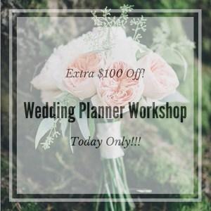 Wedding Planner Workshop in Seattle