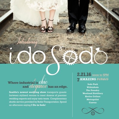 Seattle wedding shows | Sodo wedding show in Seattle | Perfectly Posh Events
