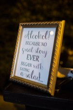 Robinswood House Wedding in Bellevue | Creative bar sign | Perfectly Posh Events, Seattle Wedding Planner | Courtney Bowlden Photography