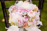 Robinswood House Wedding in Bellevue | Soft and colorful bouquet with dahlias | Perfectly Posh Events, Seattle Wedding Planner | Courtney Bowlden Photography | Sublime Stems | Bridal bouquet with pink and white flowers