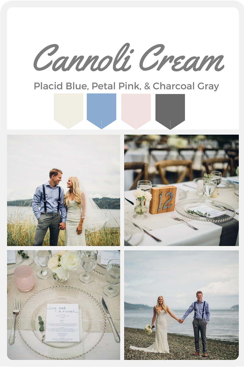 White Wedding Color Swatches from Pantone   Real wedding with Pantone color, Cannoli Cream   Design + Coordination by Perfectly Posh Events   Mike Fiechtner Photography   Flowers by Stacy Anderson Design