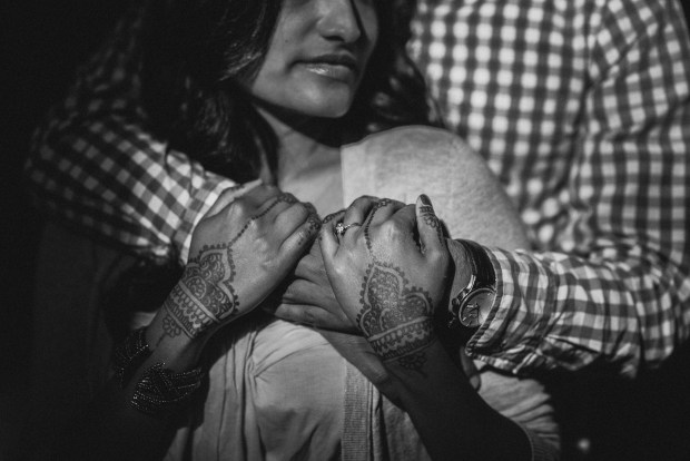 Seattle Engagement Shoots | Indian engagement shoot with henna tattoo focus | Perfectly Posh Events | Shane Macomber Photography