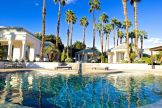 Merv Griffin Estate, Palm Springs wedding venue | pool view | Perfectly Posh Events, Seattle and Portland Wedding Planner