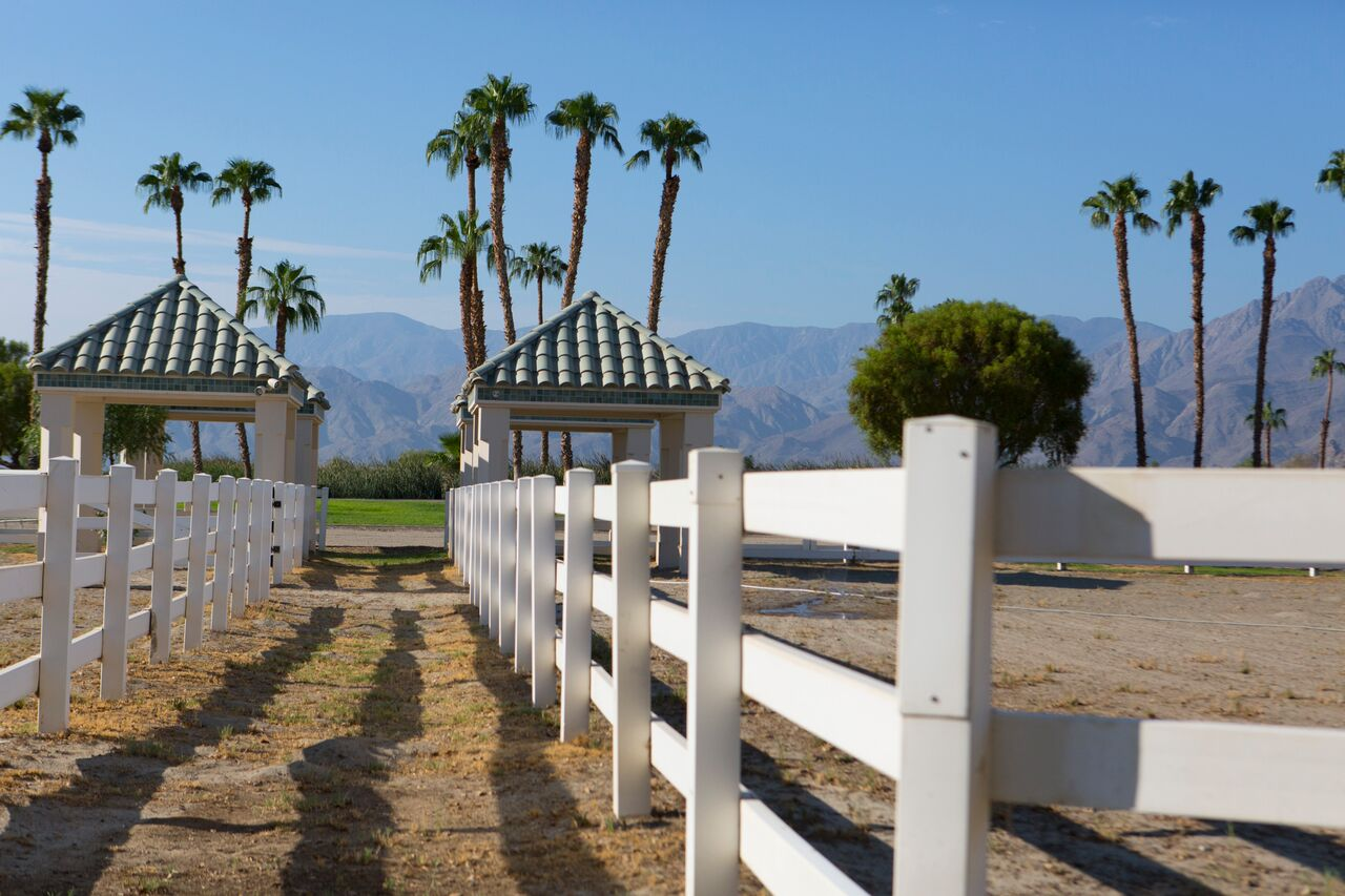 Merv Griffin Estate, Palm Springs wedding venue | equestrian area | Perfectly Posh Events, Seattle and Portland Wedding Planner