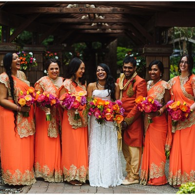 Indian Fusion Wedding at Kiana Lodge
