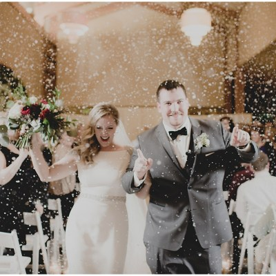 New Year's Eve Wedding at Cedarbrook Lodge