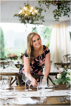 Holly Patton Olsen, Seattle Wedding Planner with Perfectly Posh Events