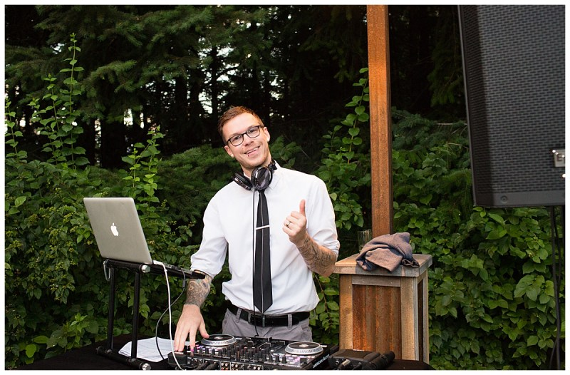 DJ Casey of Stumptown DJs, a premier Portland DJ company. Interview by Portland wedding planner Perfectly Posh Events.