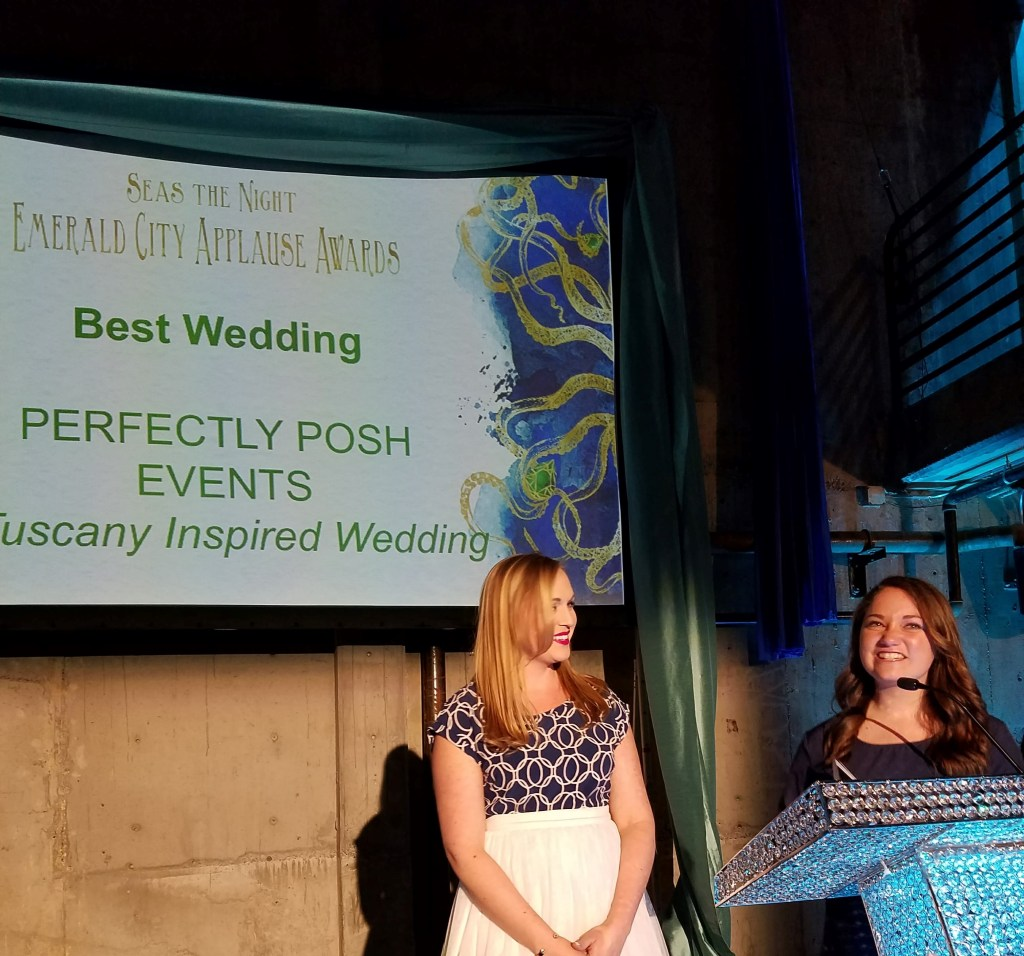 Awarded Best Wedding in Seattle #perfectlyposhevents