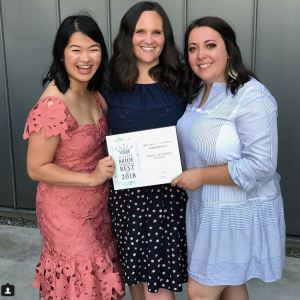 Seattle's Best Wedding Coordinator award by Seattle Bride Magazine to Perfectly Posh Events, Seattle and Portland Wedding Planners #perfectlyposhevents