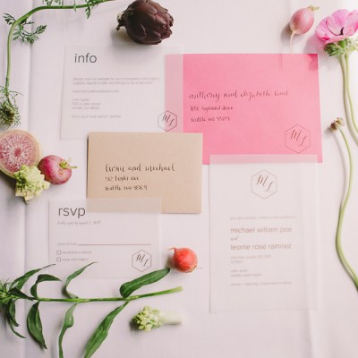 Signage + Stationery Design Trend: Mixed Mediums