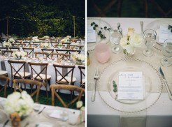Edgewater House Wedding, Gig Harbor, WA | Cream and blush wedding colors, elegant outdoor wedding reception | Seattle Wedding Planner, Perfectly Posh Events | Mike Fiechtner Photography | Floral Design by Stacy Anderson Floral