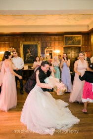 Thornewood Castle Wedding in Seattle |Bride and groom ballrom dancing at reception | Perfectly Posh Events, Seattle Wedding Planner | Stephanie Cristalli Photography