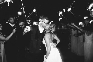 Sodo Park Wedding in Seattle | Sparkler send-off | Perfectly Posh Events, Seattle Wedding Planner | Andria Lindquist Photography