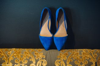 Hotel Ballard Wedding in Seattle | Blue wedding shoes by Madewell, example of Something Blue | Perfectly Posh Events, Seattle Wedding Planner | Mike Fiechtner Photography