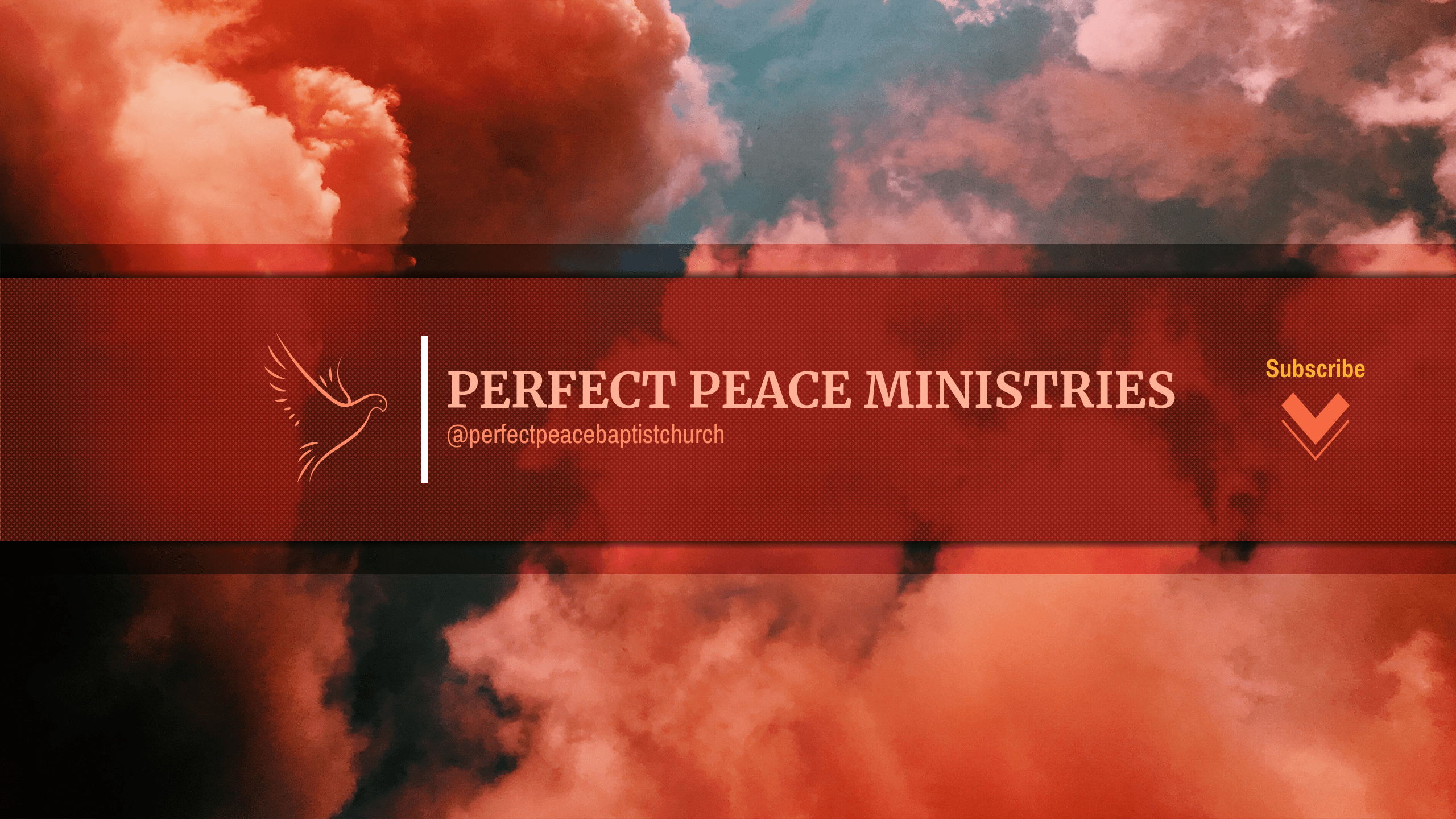 perfect peace youtube banner