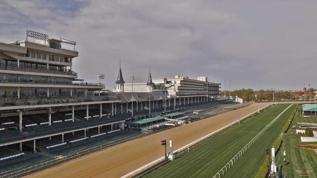 Churchill Downs Louisville Drone Photo
