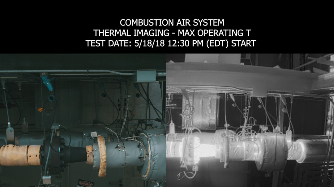Dual Camera Drone Thermal Imaging - High Energy Piping System