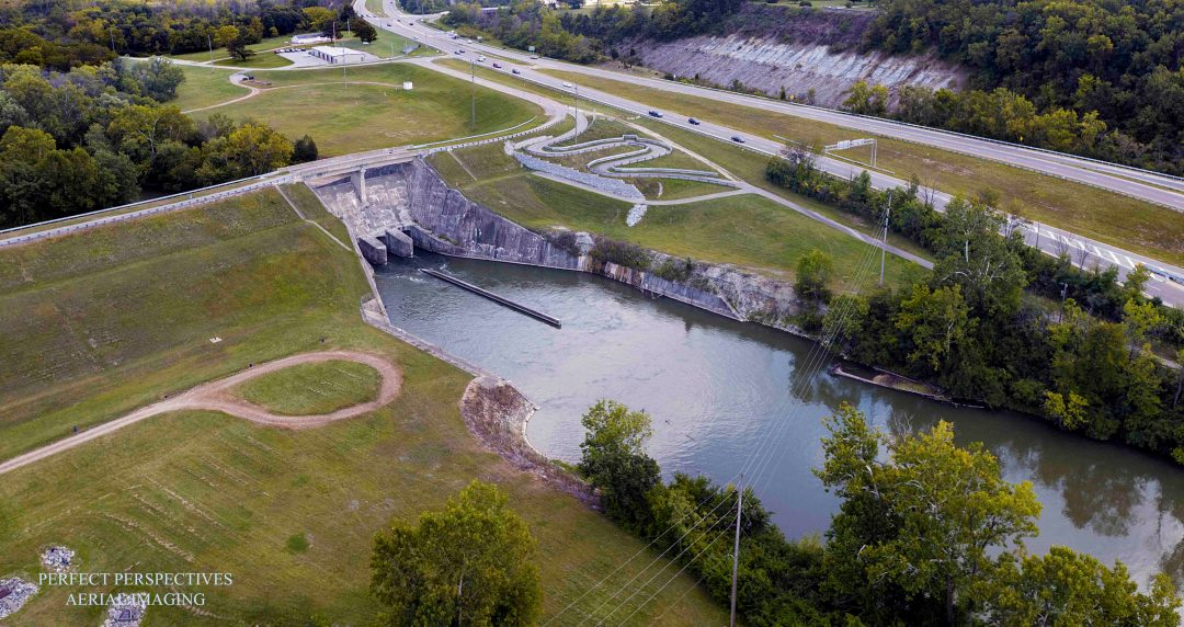 Drone Aerial Imaging of Critical Infrastructure Dams