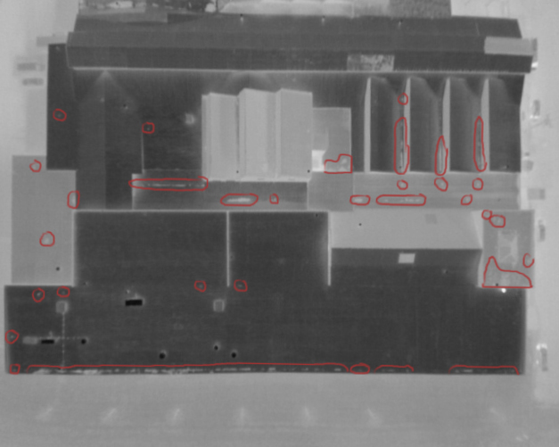 Industrial Roofing Drone Thermal Imaging Inspection in Ohio