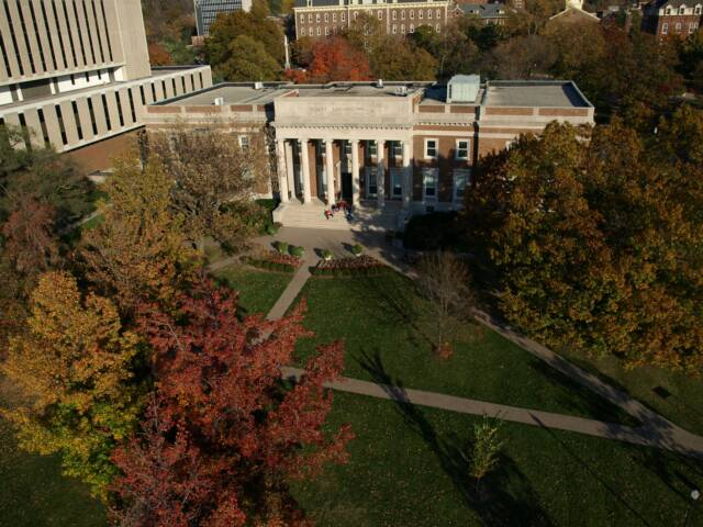 University of Dayton Aerial Drone Photograph 2